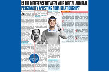 Difference between digital and real personality affecting relationships