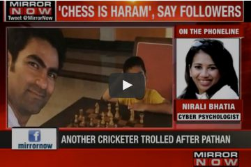 Mohd Kaif attacked by cyber bullies for playing chess with son