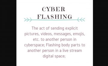 Flashing on rise in Cyberspace