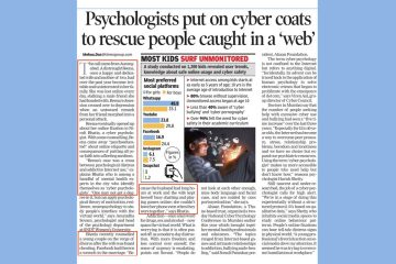 Psychologists put on cyber coats to rescue people caught in a 'web'