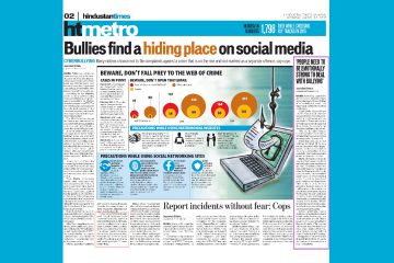 Bullies find a hiding place on social media
